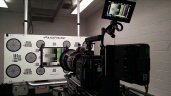 At Panavision prepping for another feature film