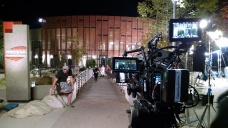 Beautiful exterior lighting by our DoP