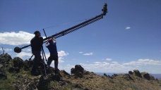 The highest point I've ever brought a jib, top of Mt. Baldy