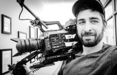 Running camera on set
