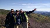 Crew photo at the top of Yukon with my soundman, Peter Jones and mini-cam operator Freya Davis.