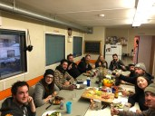 The last crew supper of the season!