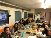 The last crew supper of the season!